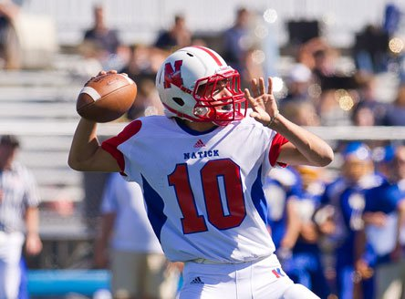 Troy Flutie put up big passing stats but it wasn't enough to help Doug Flutie's nephew lead his team further in the Massachusetts playoffs.