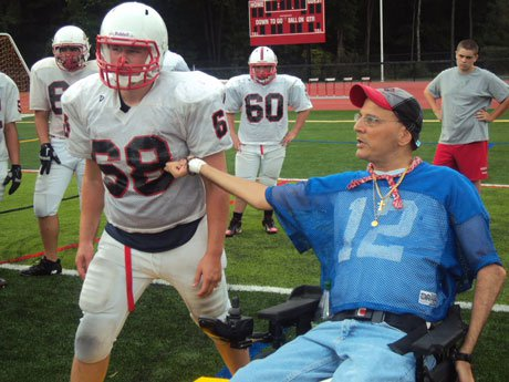 John Zisa is a staple in the northern New Jersey football coaching community. It's not because people have sympathy for him. It's because he is a legit football coach.