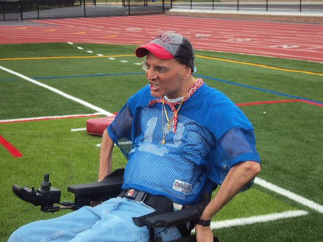 Football coaches and community members often pitch in to help Zisa pay his bills.