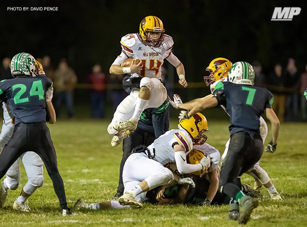 New Bremen won its first playoff game since 2004 last week with a victory over New Miami in Division VII, Region 28.