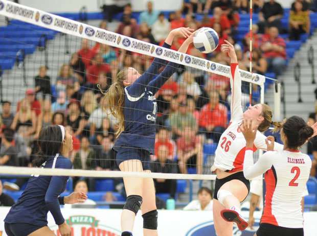 Sierra Canyon's May Pertofsky was named MaxPreps All-American second team outside hitter for medium schools.