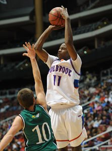 Holbrook's Torrian Epps led his team  with 18 points.