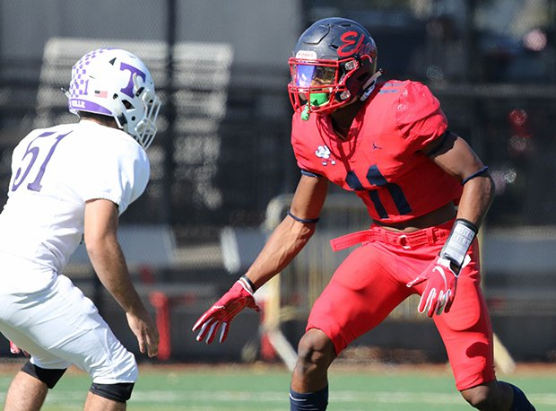 Erasmus Hall linebacker Moses Walker is New York's No. 1 overall prospect for 2022.