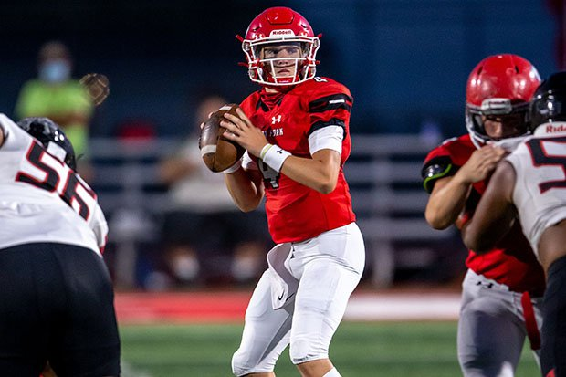 American Fork is averaging nearly 50 points per game through four weeks behind the arm of junior quarterback Maddux Madsen.