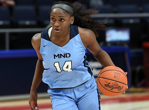 Mount Notre Dame junior K.K. Bransford has helped the Cougars win 72 straight games.