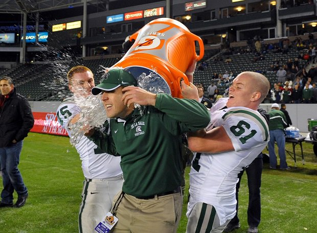 De La Salle hasn't lost to a Northern California team since 1991 and has been to the CIF state title game 12 years running. The Spartans, however, tied two games in 2004. Those games rank among the 10 greatest ties in high school football history.
