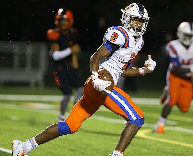 East. St. Louis receiver/safety Antonio Johnson