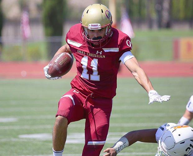 Oaks Christian receiver Bryce Farrell