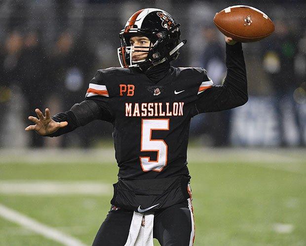 Washington quarterback Aidan Longwell