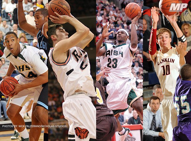 Jared Sullinger (Northland), Jon Diebler (Upper Sandusky), LeBron James (Akron St. Vincent-St. Mary) and Luke Kennard (Franklin) all rank Ohio's best all-time prep players. Is one of them tops?