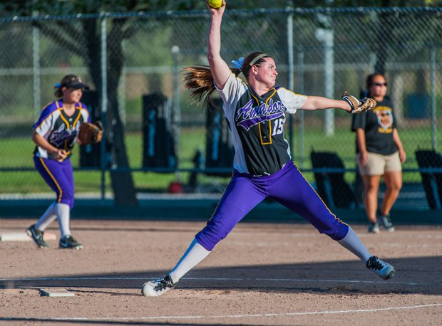 Johanna Grauer of Amador Valley has put together an amazing season in the pitching circle. Check out 17 other names that have dazzled thus far.