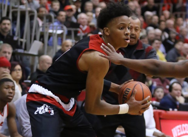 Romeo Langford was the MaxPreps National Sophomore of the Year in 2015-16.