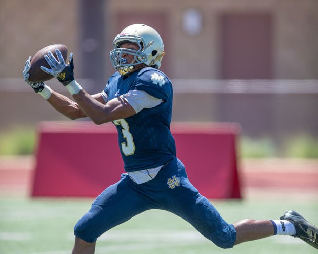 Notre Dame (Sherman Oaks) receiver-cornerback Sean Guyton and his 19th-ranked Knights host No. 21 Servite (Anaheim) in one of the biggest games of the week on Friday.