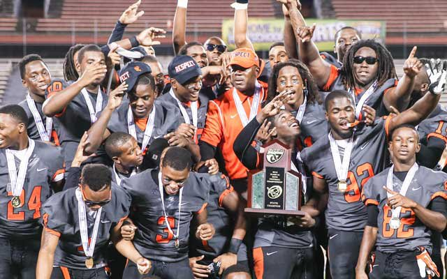 Booker T. Washington celebrated a state title, and now, gets the chance to revel in a national one.