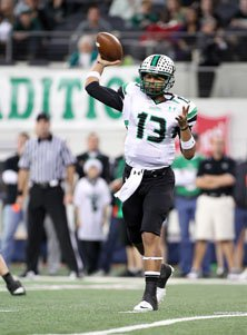Kenny Hill accouted for more than 340 yards and four touchdowns.
