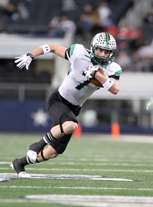 Carroll's Ben Sego on the move.