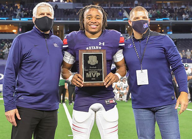 Ryan defensive back Ty Marsh was selected the game's Defensive MVP after recording an interception and forcing a fumble which he recovered.