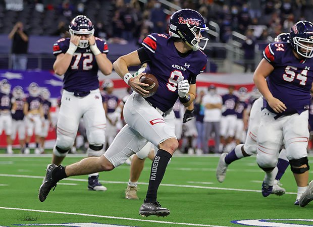 Quarterback Seth Henigan helped Denton Ryan win its first state title since 2002 in dominant fashion.