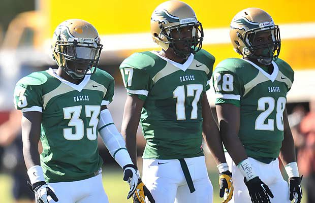 DeSoto takes on Trinity (Euless) Saturday in the state's top game of the week.