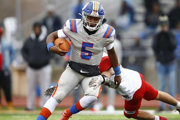 Missouri recruit Tyler Macon and his teammates at East St. Louis will have to wait until the spring to get back on the field.