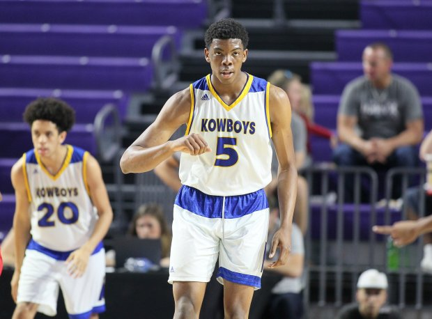 Top 50 prospect Omar Payne is part of the reloading process at Montverde Academy.
