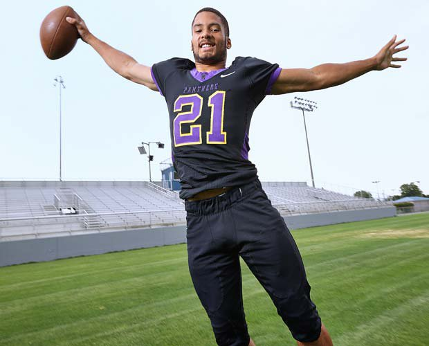 Isaiah Brandt-Sims has a small town zip code and a national-caliber bucket of athletic talent.