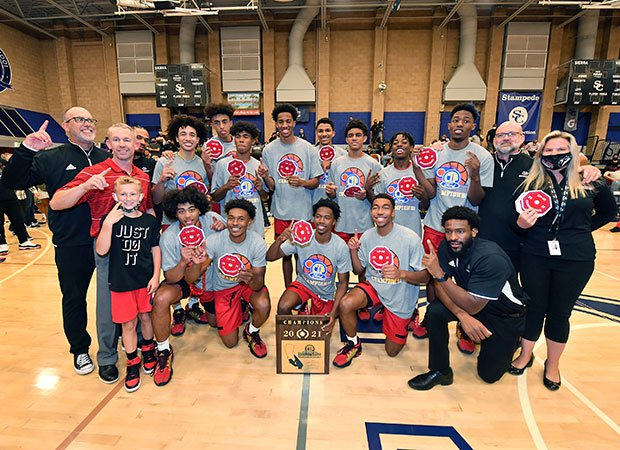 Centennial, 2021 CIF Southern Section Open Division champions