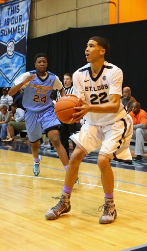 Jayson Tatum was the MaxPreps national basketball Sophomore Player of the Year.