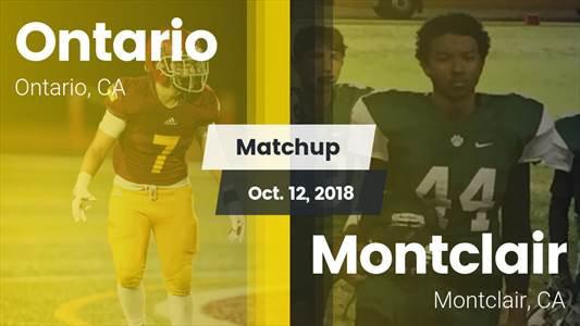 Football Game Recap: Montclair vs. Ontario