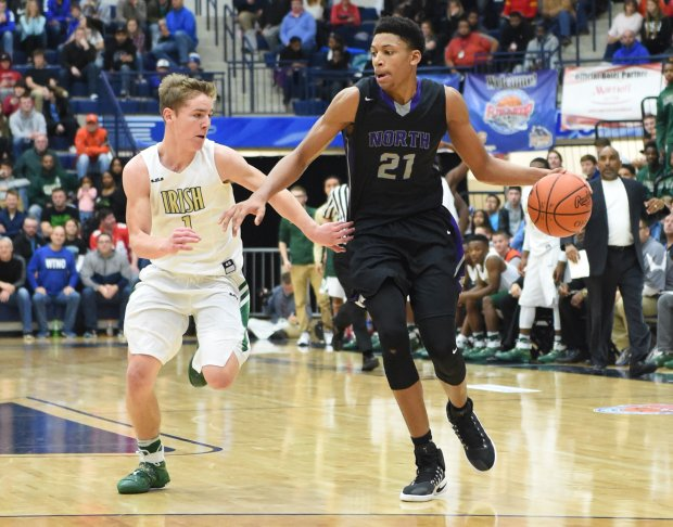 Ohio forward Jerome Hunter was part of Archie Miller's big recruiting haul at Indiana.