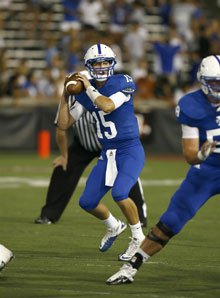 Quarterback Griffin Dolle was solid in St. Xavier's opener.
