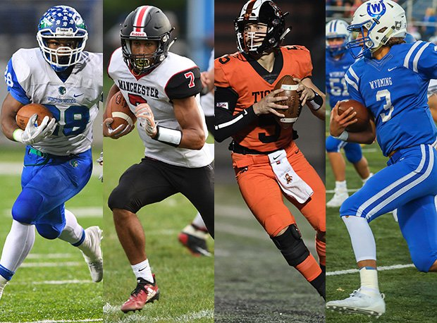 Winton Woods running back Miyan Williams, Manchester running back Ethan Wright, Massillon quarterback Aidan Longwell and Wyoming quarterback Evan Prater all rank among Ohio's top players.