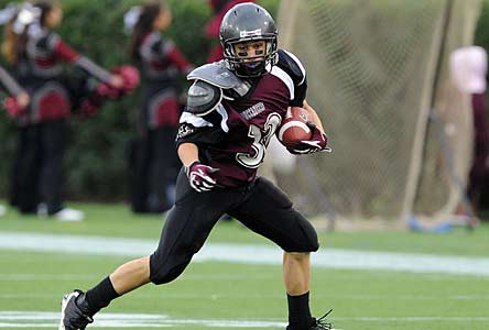 Caravel has been ranked in the Top 25 all eight years.