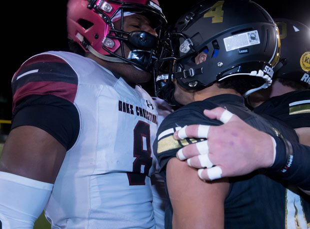 The friendly rivalry between Oaks Christian and Calabasas continues on Oct. 25.