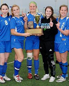 Xavier College Prep girls soccer