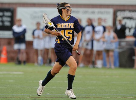 University of Notre Dame recruit Cortney Fortuano of Northport.
