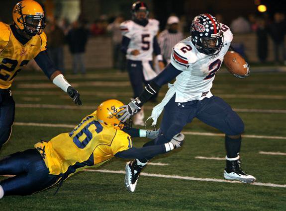 Qyen Griffin was unstoppable for South Panola.