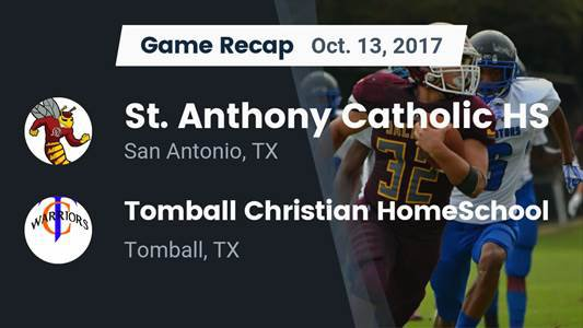 Football Game Recap: Tomball Christian HomeSchool vs. KIPP Sunnyside