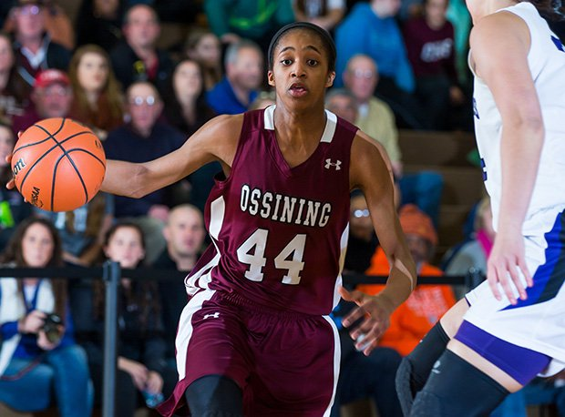 Ossing (N.Y.) junior Aubrey Griffin scored 46 points in a game against Our Lady of Lourdes (Poughkeepsie, N.Y.).
