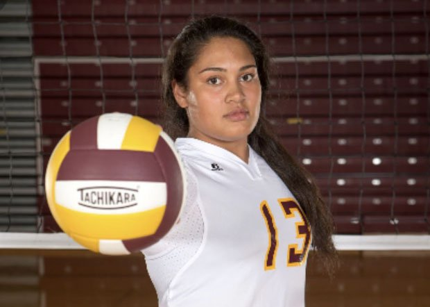 MaxPreps 2017-18 Athlete of the Year Alissa Pili led Dimond's volleyball team to a third straight state title.