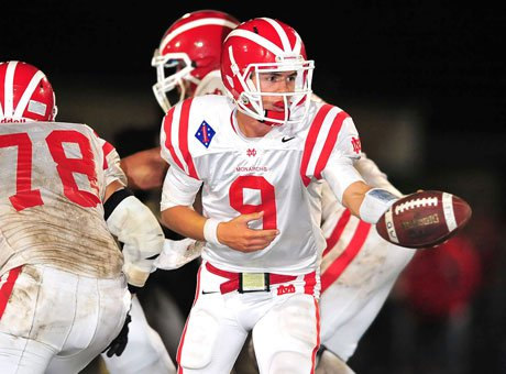 Chase Forrest has led Mater Dei to the Pac-5 Division final after the Monarchs blanked St. Bonaventure.