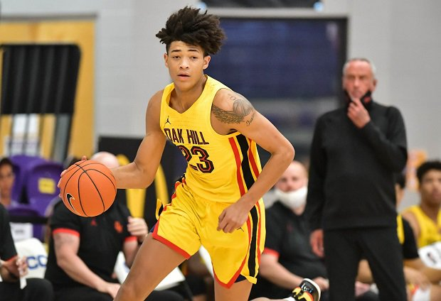 Jalen Reed and Oak Hill Academy advanced to the next round in the GEICO Nationals with their 84-77 win over Pace Academy on Wednesday.