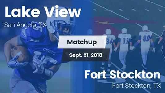 Football Game Recap: Fort Stockton vs. Lake View