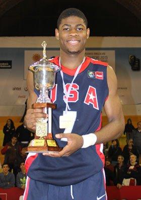 Malik Newman was the MVP of the FIBA Americas U16 Championship in Uruguay last summer.