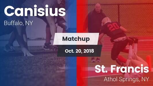 Football Game Recap: St. Francis vs. Canisius