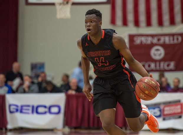 Arizona commit Emmanuel Akot and Wasatch Academy rejoined the rankings following their selection to the Dick's Sporting Goods High School Nationals.