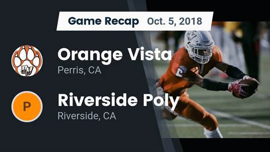 Football Game Preview: Perris vs. Poly