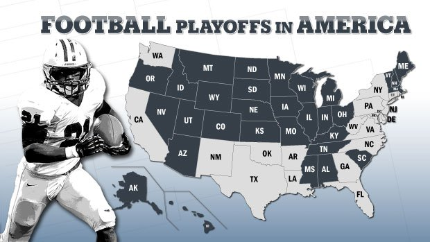 2013 High School Football Playoff Brackets State Champions From