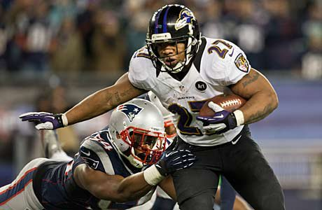 Ray Rice of the Baltimore Ravens went to New Rochelle High.