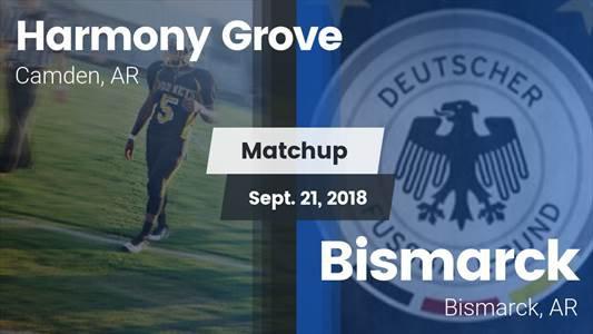 Football Game Recap: Bismarck vs. Harmony Grove